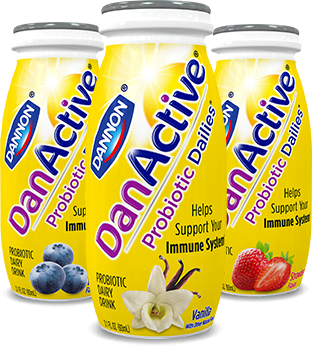 DanActive flavors to support your immune system
