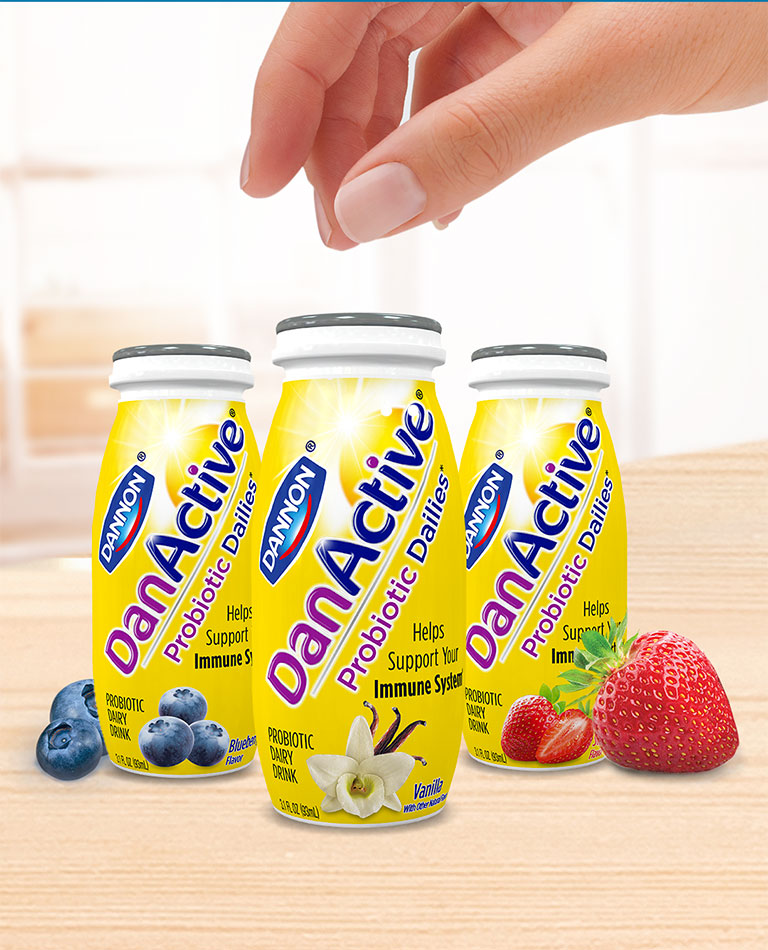 DanActive Probiotic Dairy Drinks